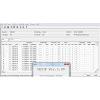 VERTEX CE-91 Dealer Programming Software