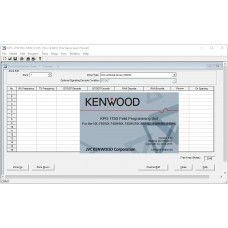 KENWOOD KPG-175D v3.00 Programming Software