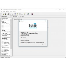 TAIT TB7100 v1.22 Programming Software