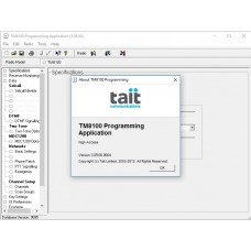 TAIT TM8100 v3.09 Dealer Programming Software