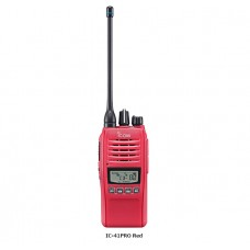 ICOM CS-41PRO UHF Radio - RED