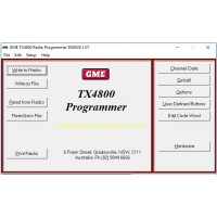 GME TX4800 v2.04 Dealer Programming Software