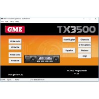 GME TX3500 v1.01 Dealer Programming Software