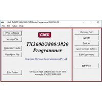 GME TX3600/TX3800/TX3820 v3.01b Dealer Programming Software